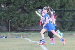 Lacrosse Girls in Action